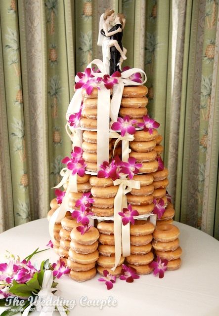 How To Make A Doughnut Wedding Cake